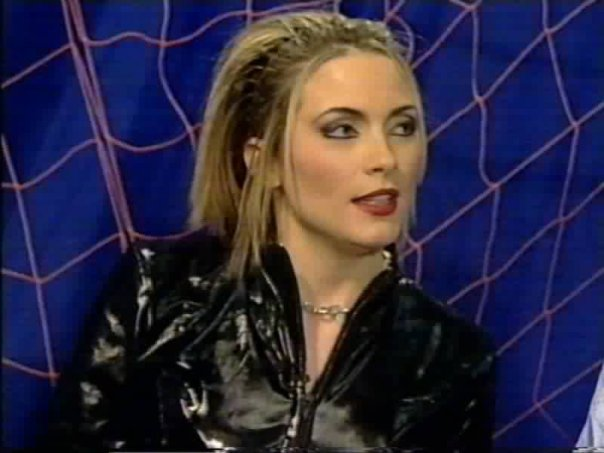 Lisa Rogers catsuit