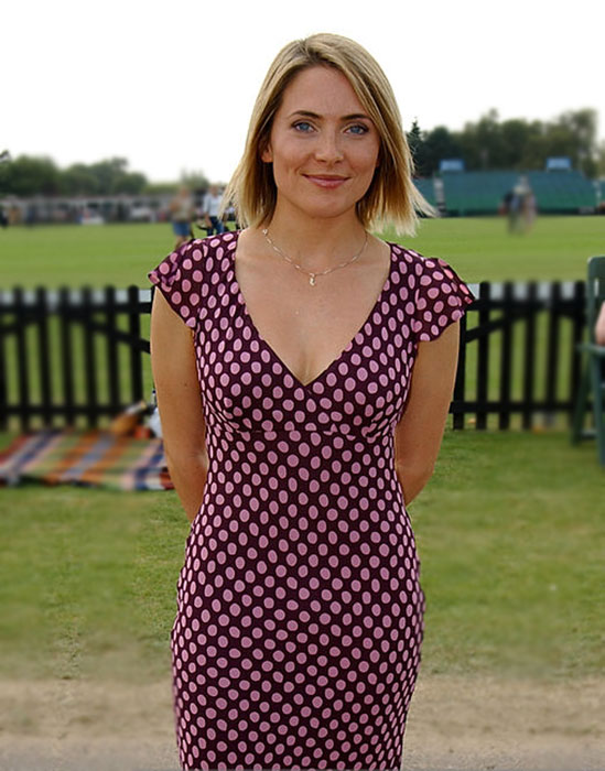 Lisa Rogers at a polo match