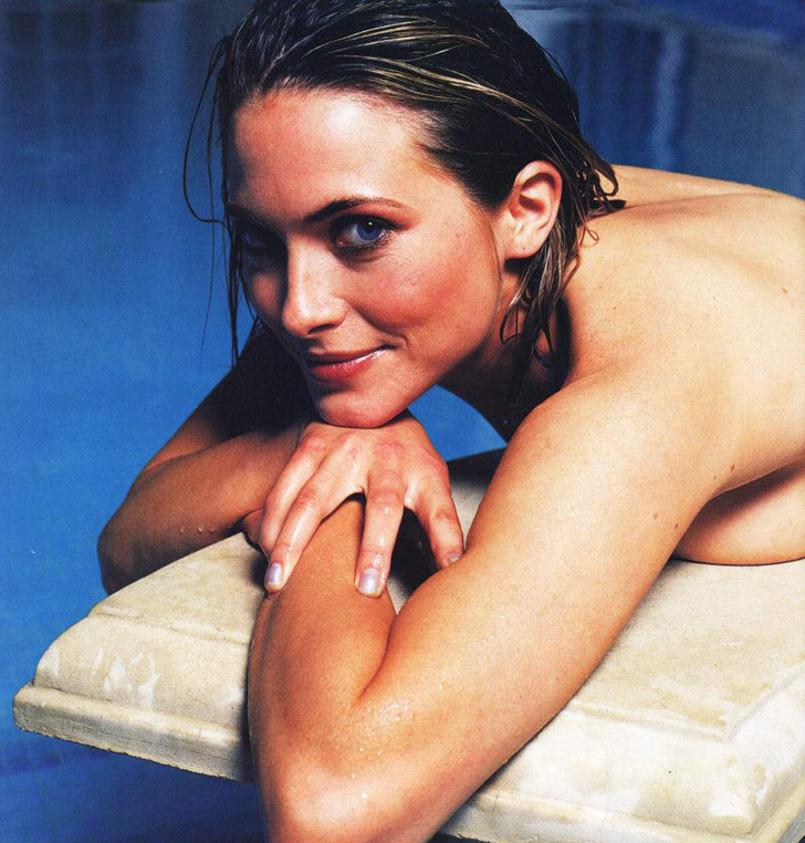Lisa Rogers in bed